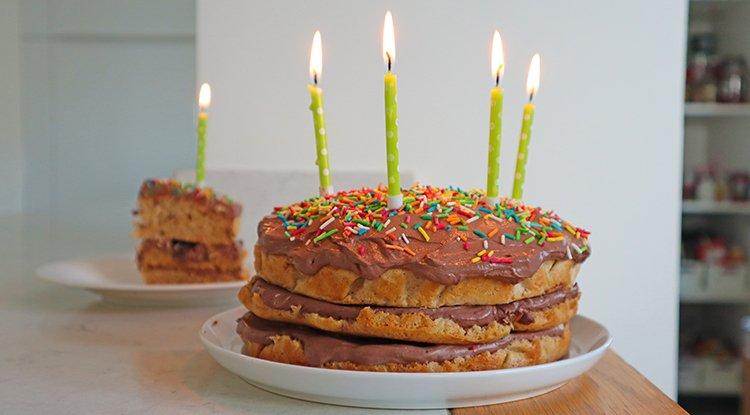 Sağlıklı Doğum Günü Pasta Tarifi