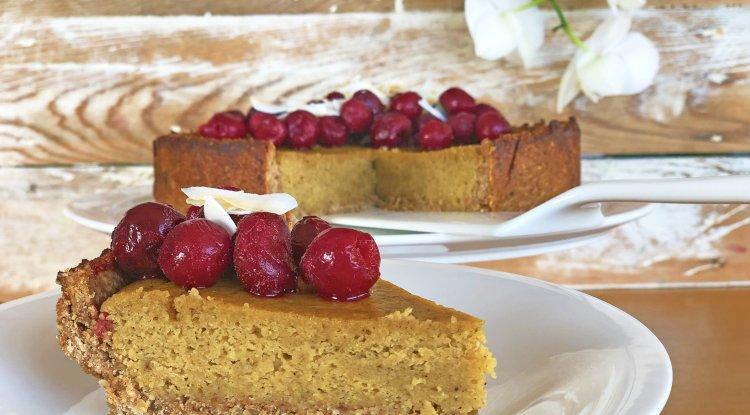 Sağlıklı Vişne Pasta Tarifi