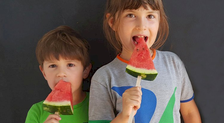 Kinder zum gesund Essen motivieren