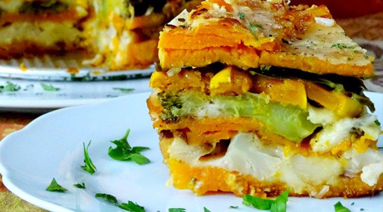Veggie Lasagne goes Salad