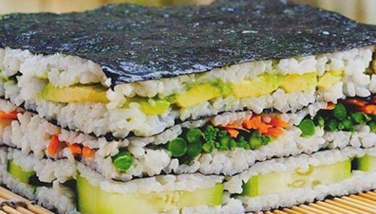 Beslenme Çantası: Sushi Sandviç