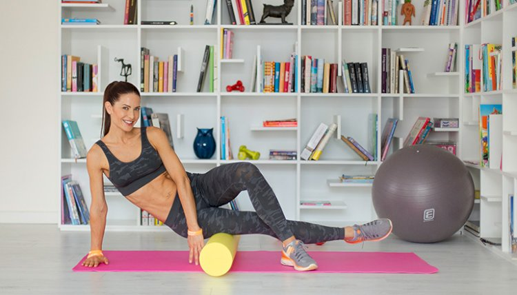 FOAMROLLER FOR WELLNESS AT HOME