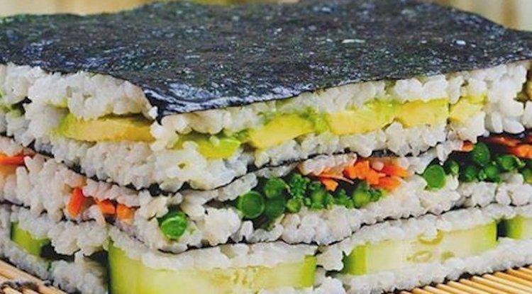 Lunch-Box: Sushi Sandwich