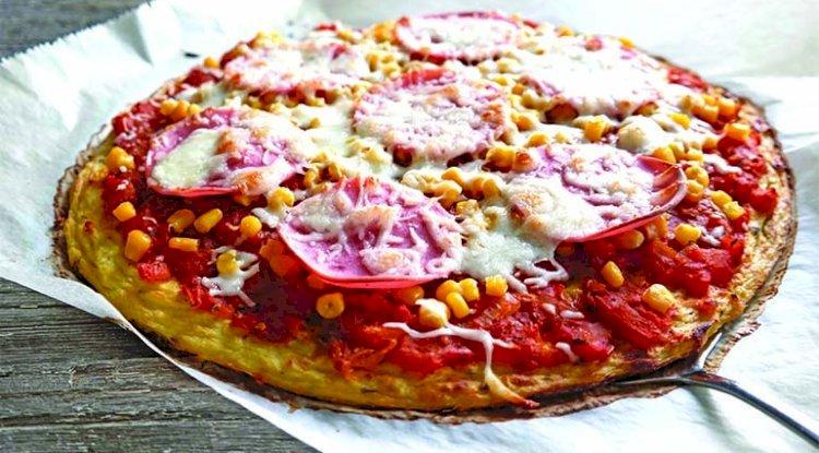 Gesunde Familienpizza